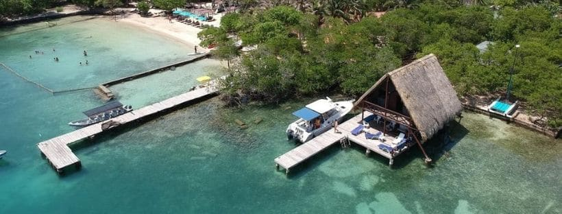 Islas del Rosario PARADISE, Isla Victoria