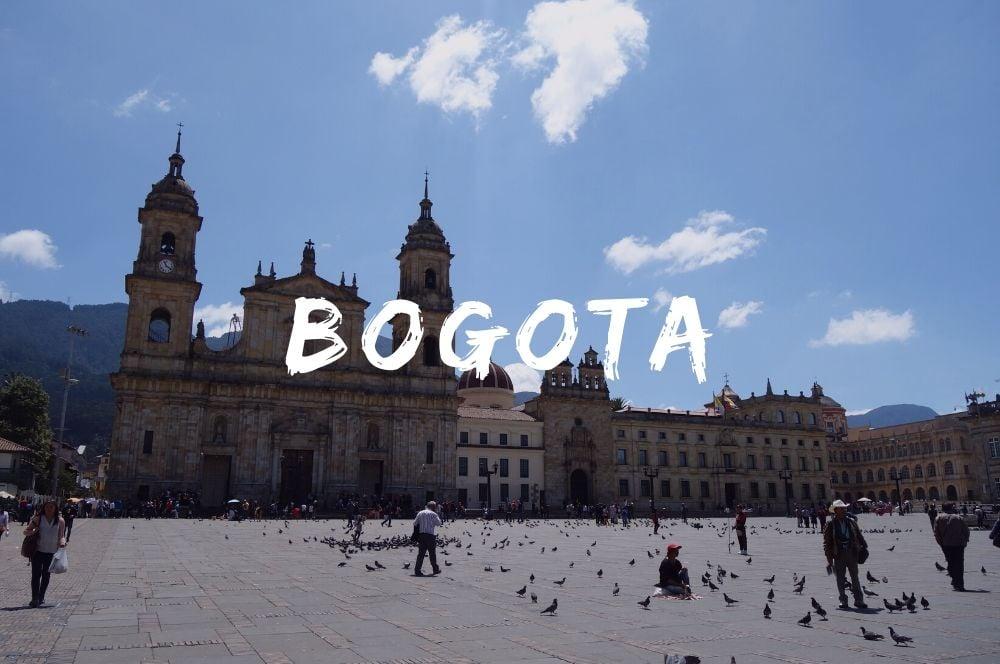 Bogota, la capitale de la colombie