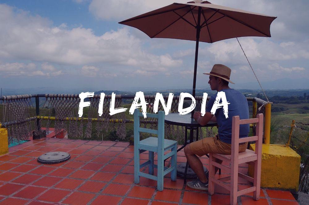 Filandia, carte de Colombie
