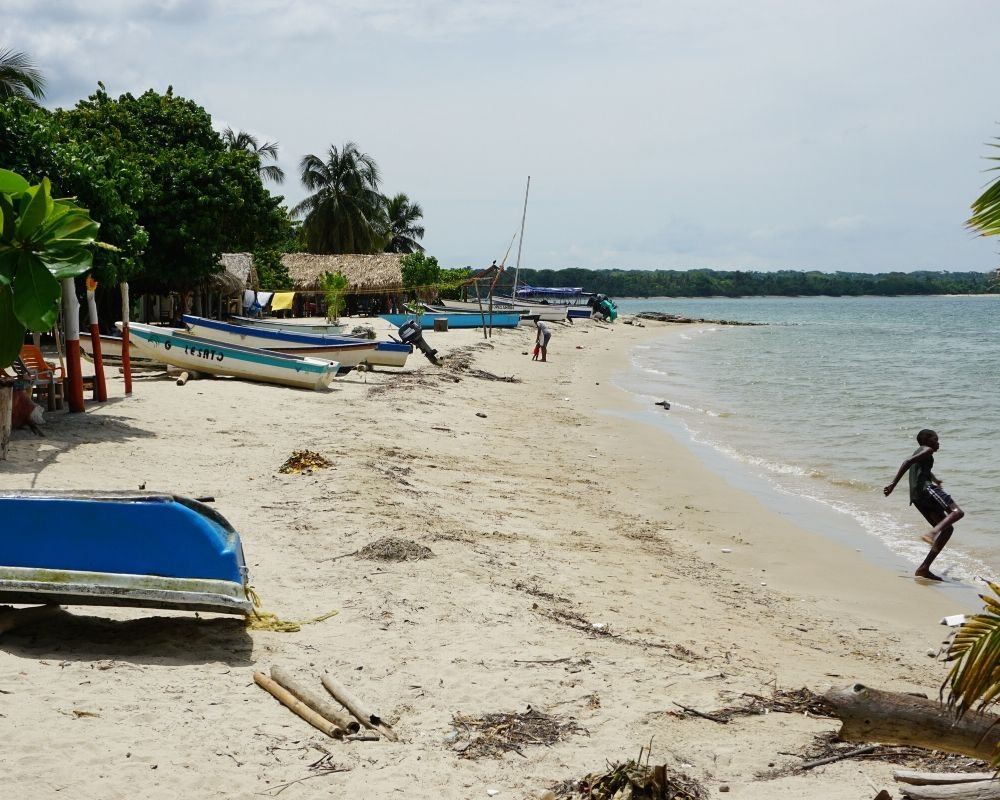 Rincon del Mar Beach 1 week in Colombia itinerary