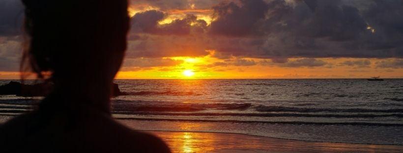 Sunset Guachalito Beach