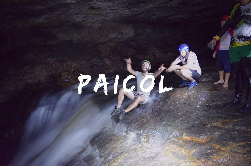 Paicol, au Sud de Bogota sur une carte de la Colombie