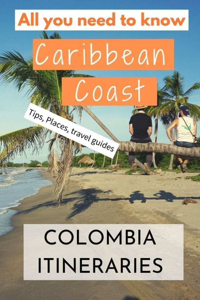 cOLOMBIA ITINERARY CARIBBEAN COAST