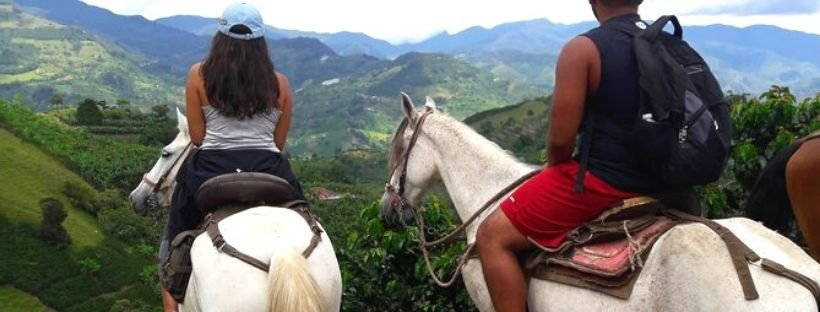 Horse riding Medellin