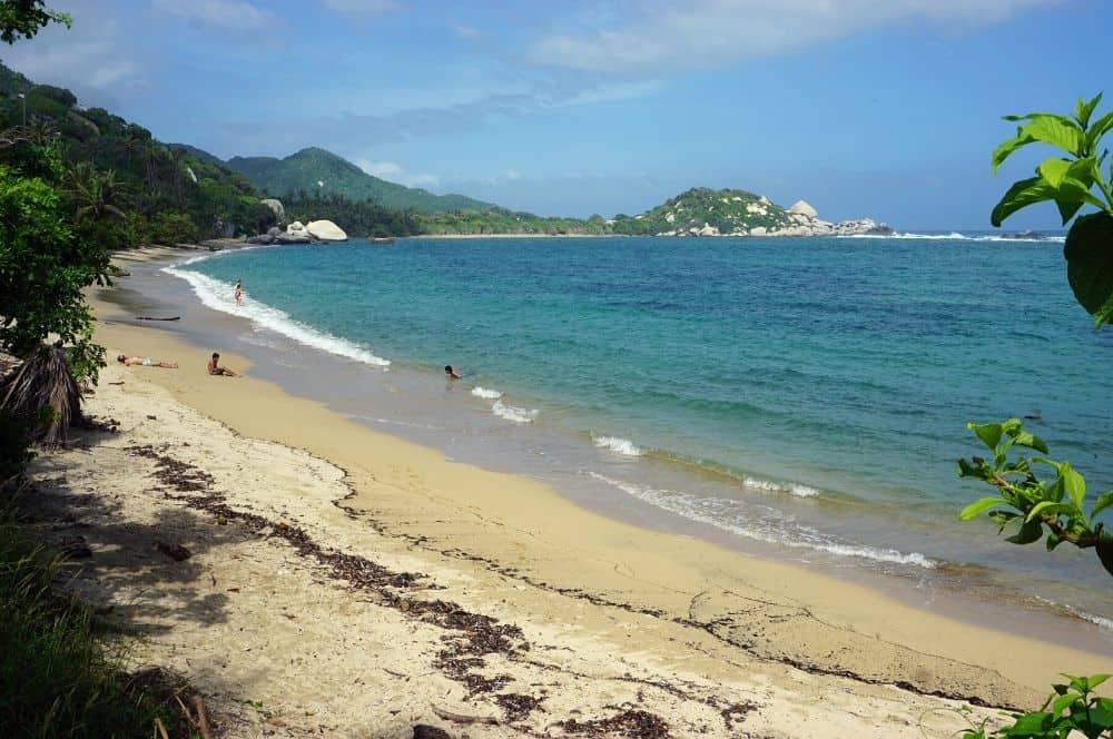 Beach Tayrona