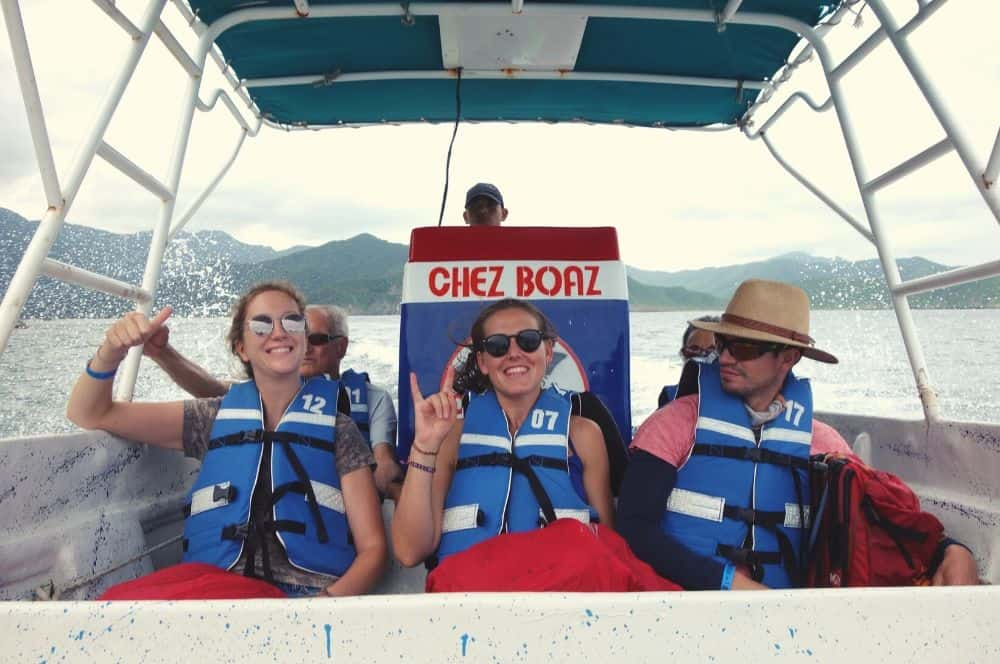 Boat expedition Santa Marta