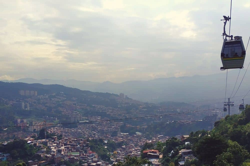 Cable car Medellin (1)