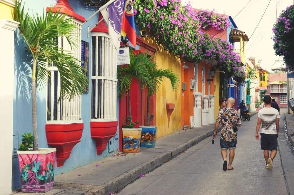 Centro historico Street Cartagena