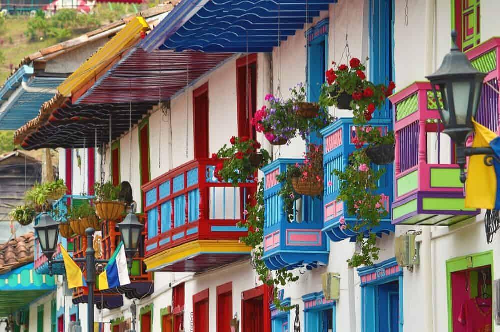 Colorful street Salento