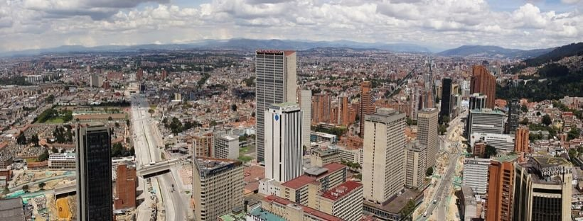 Colpatria view things to do in Bogota