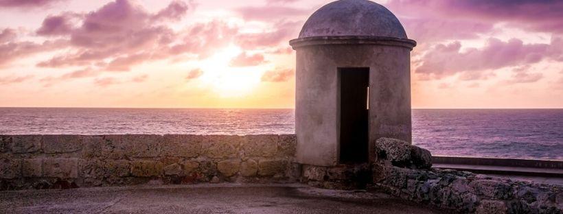 Coucher de soleil que faire à Carthagène