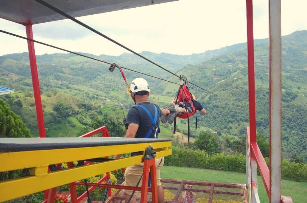 Giant zipline Tobia