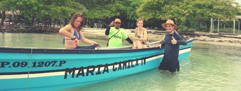 Isla Tintipan Boat