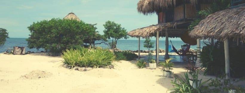 Isla Tintipan beach