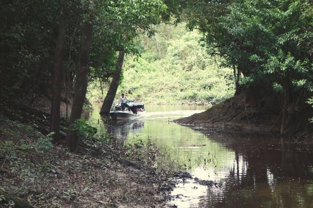 Laguna boat San Jose del Guaviare