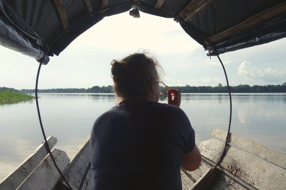 Laguna torapoto Puerto nariño amazon