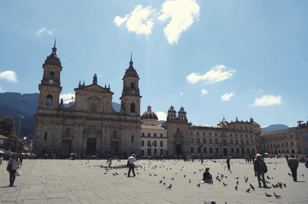 Main square Bogota