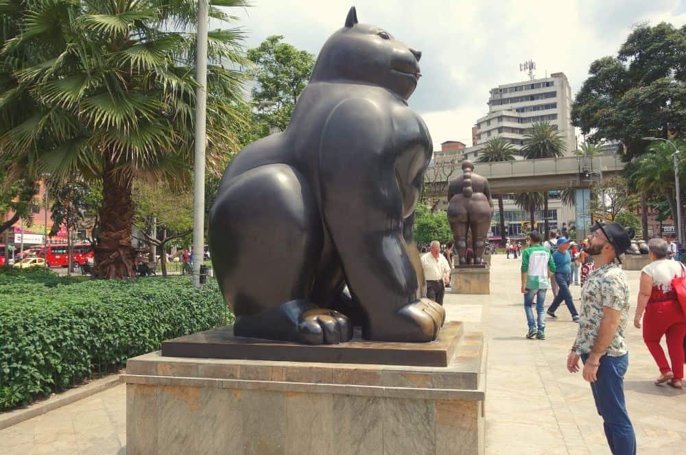 Medellin Plaza Botero