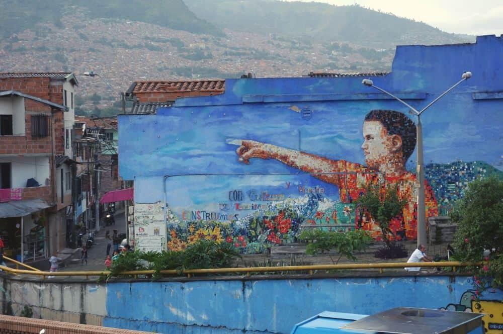 Medellin Street Art City