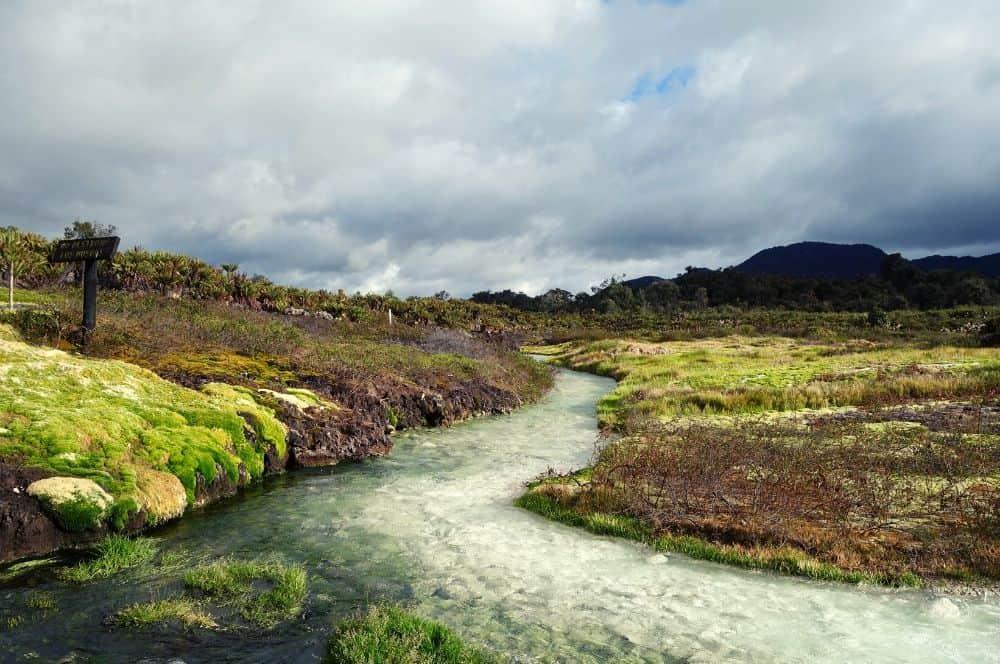 Natural thermal water popayan