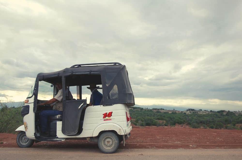 Our driver Tatacoa desert