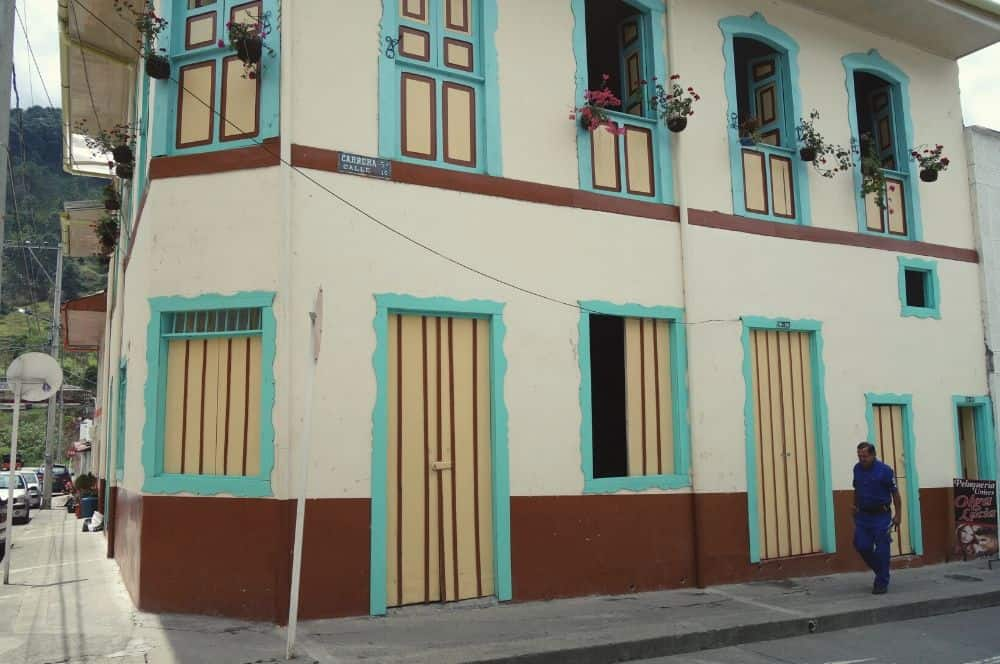 Pijao Colorful street