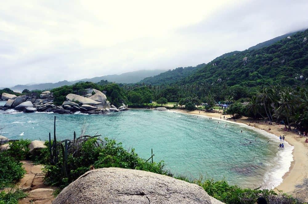 Playa Cabo San Juan beach Tayrona