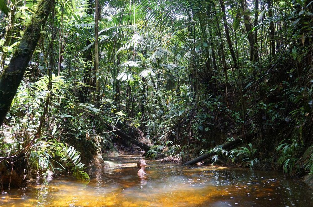 Pozos naturales La Barra