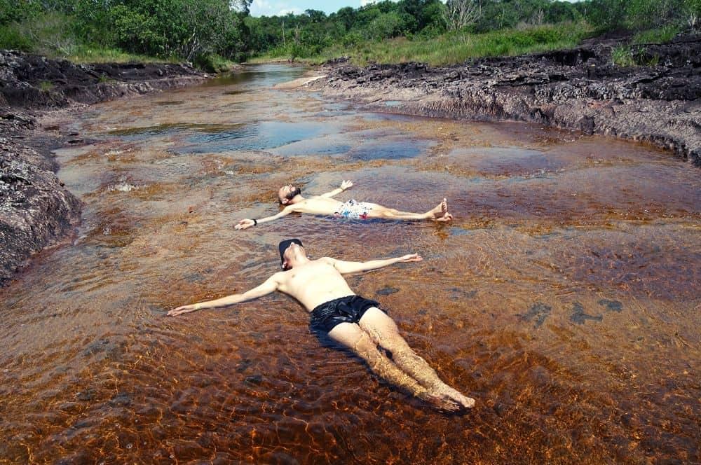 Pozos naturales San Jose del Guaviare