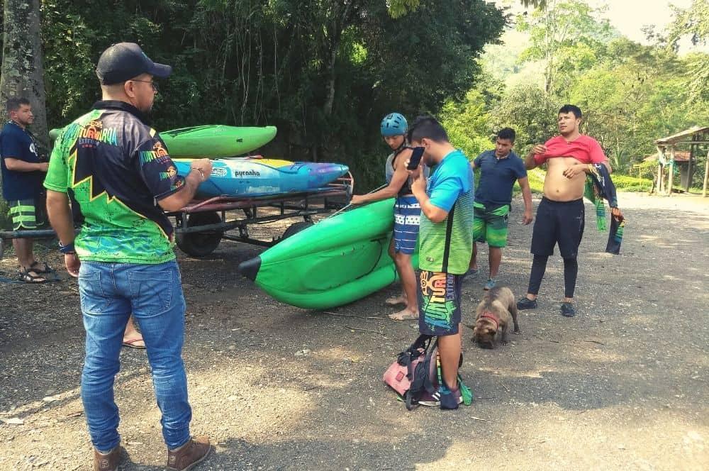 Rafting Tobia