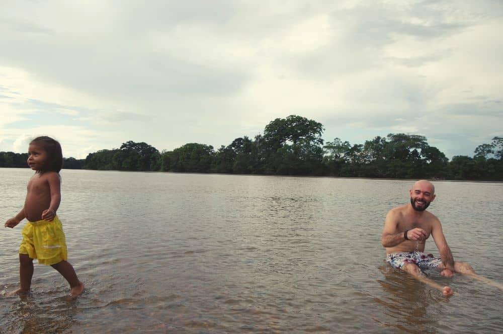 River Guaviare La Macarena