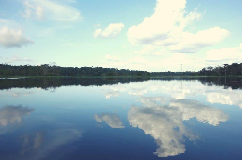 River Puerto nariño amazon