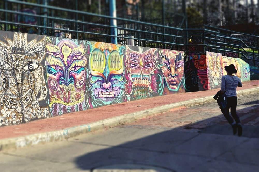 Street art in Bogota