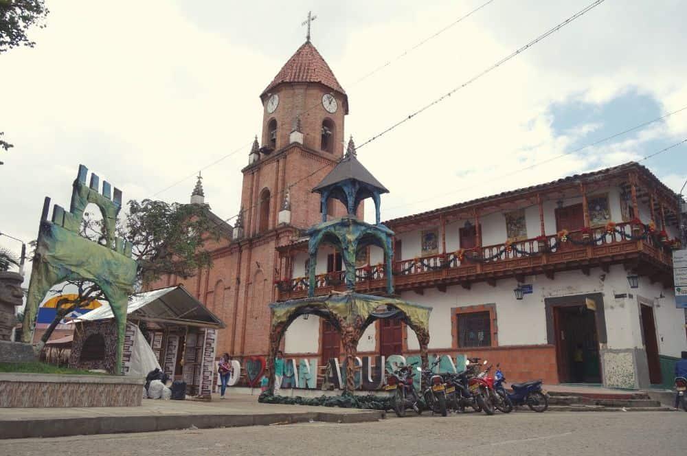 The city of San Agustin