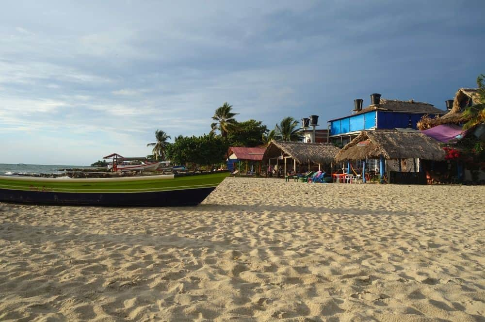 Town beach Rincon del Mar