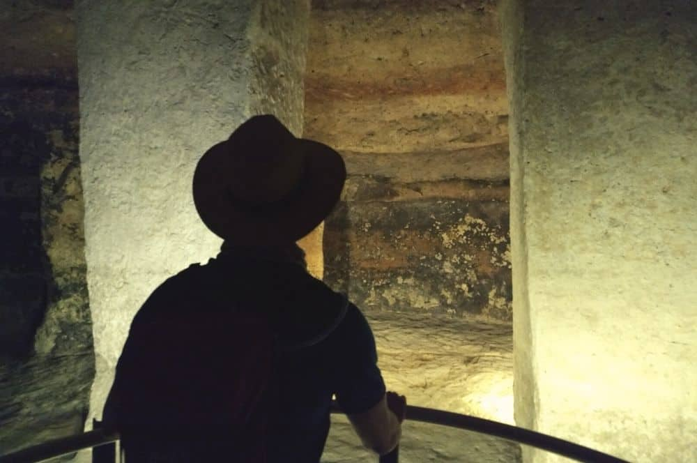 _Underground tomb Adrien Tierradentro
