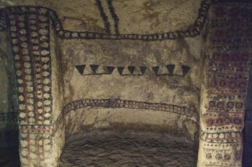 Underground tomb Tierradentro