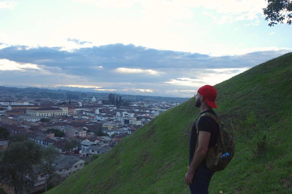View Popayan from El Morro