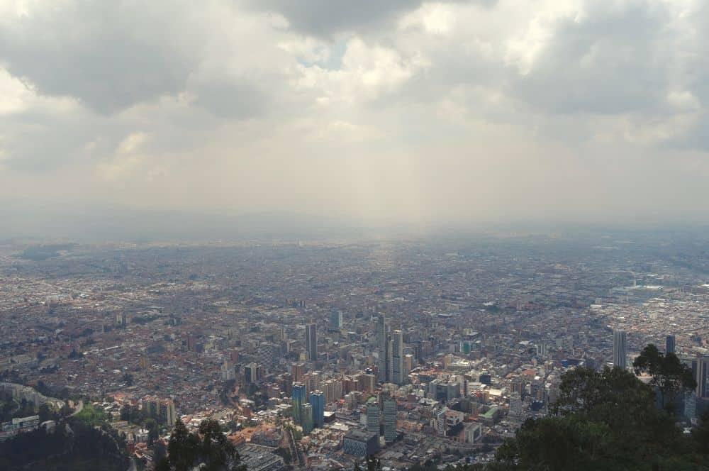 View of Bogota