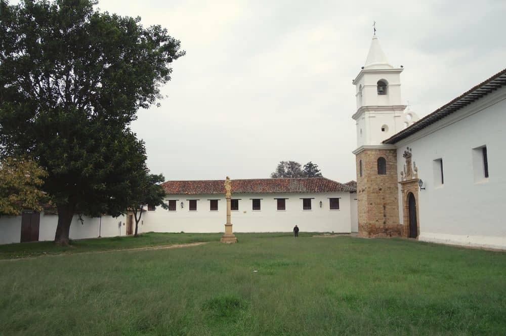 Villa de Leyva Church park