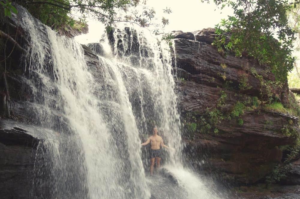 Waterfall Caño Cristales La Macarena