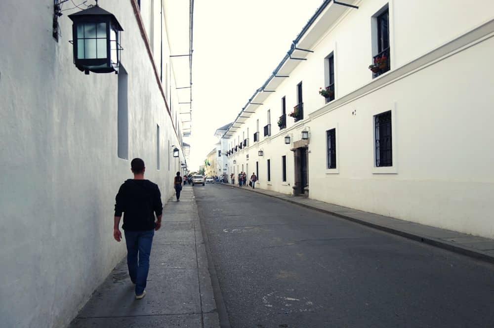 White street colonial popayan