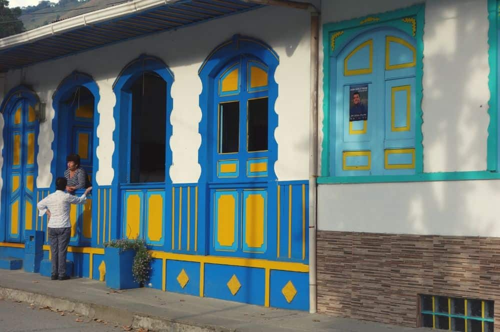 colorful street pijao
