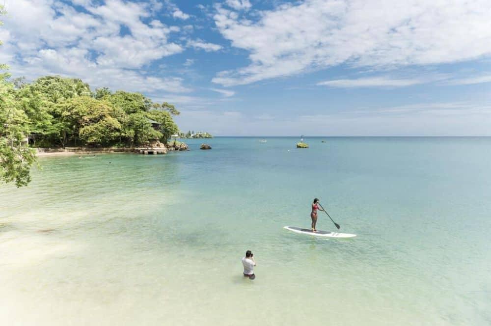 a playita paddle Isla Fuerte