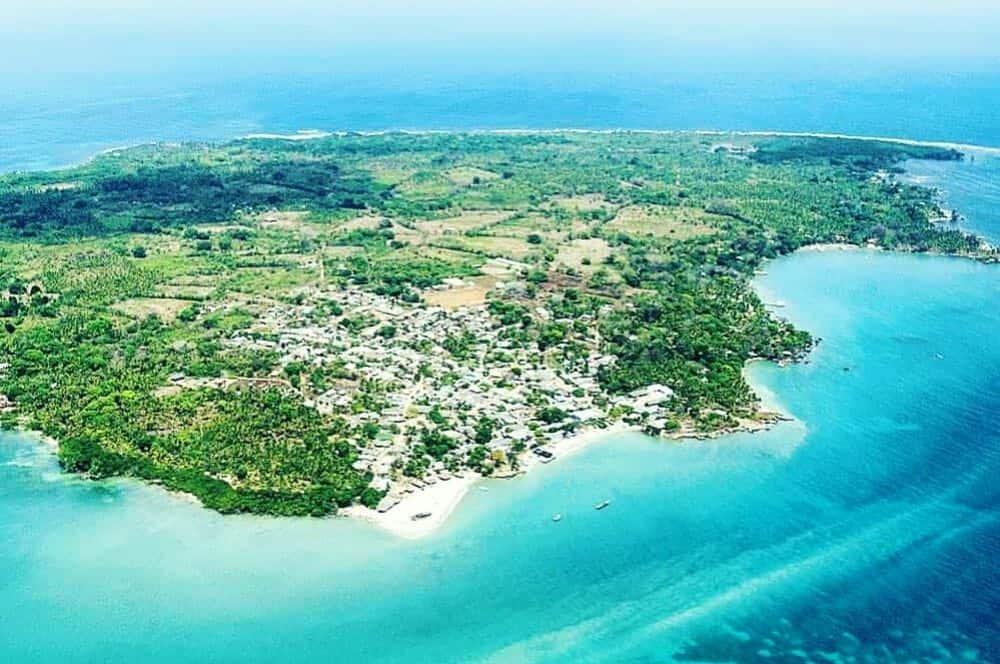 Vue sur Isla Fuerte