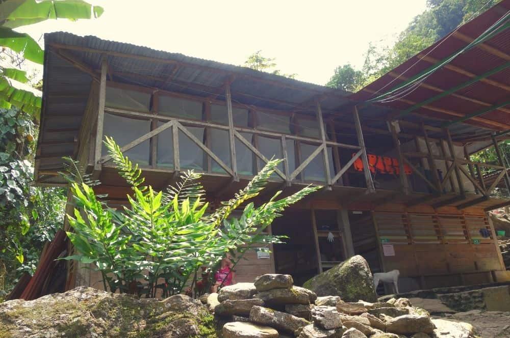 2nd base camp Ciudad Perdida Colombia (1)