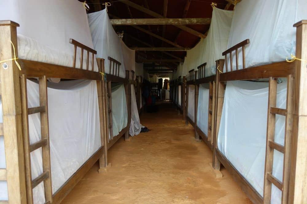 Base camp Ciudad Perdida Colombia (1)