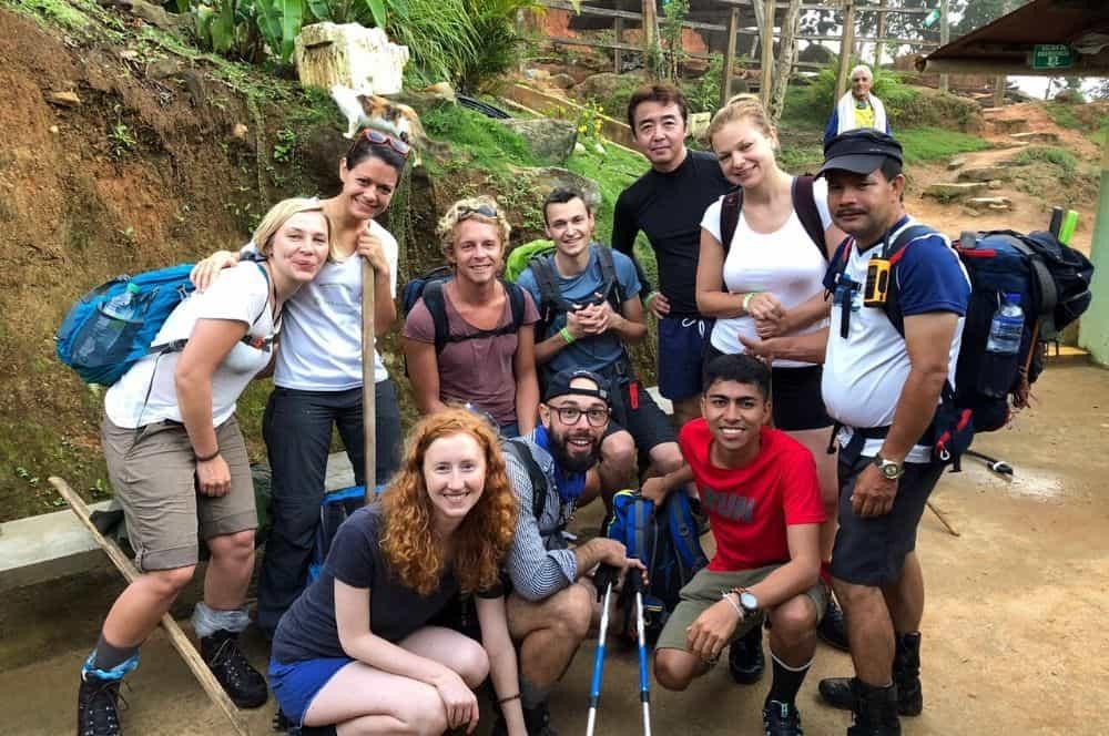 Our group Ciudad Perdida Colombia (1)