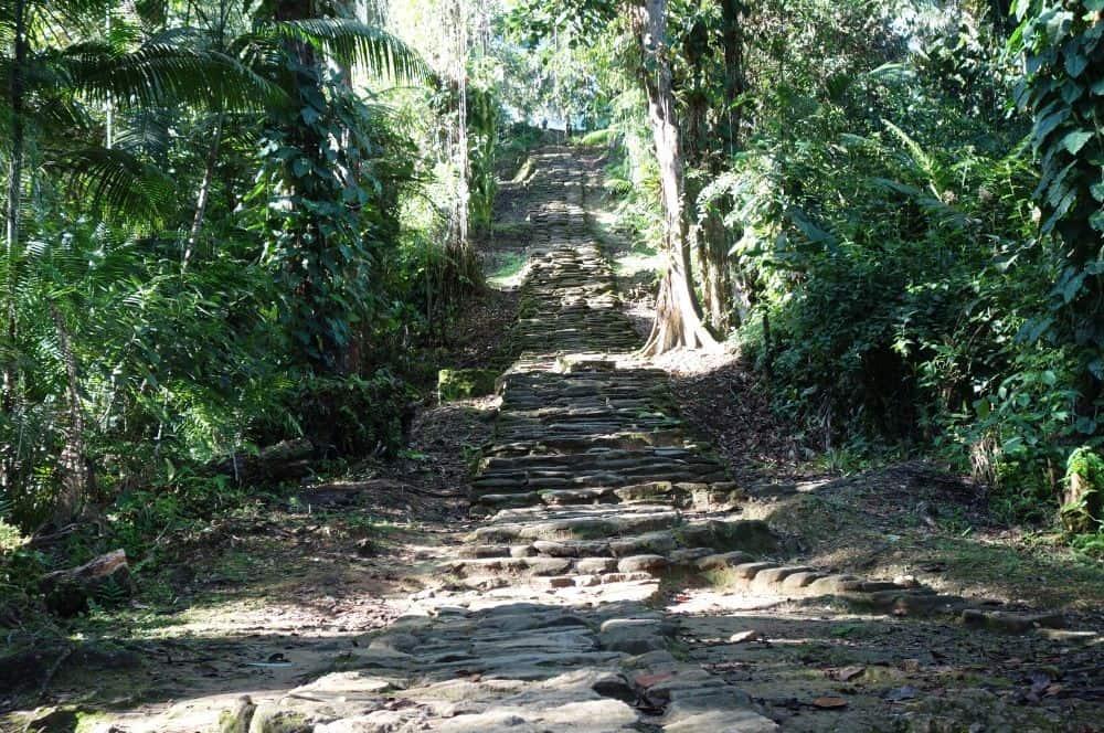 Stairs Ciudad Perdida Colombia