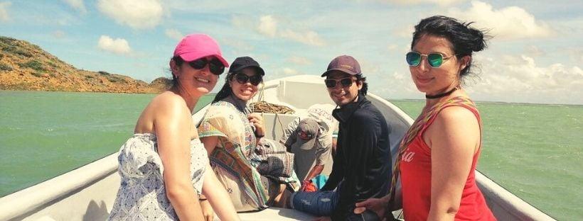 Boat trip Bahia Hondia Pura Guajira
